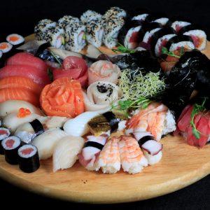 Sushi a sashimi